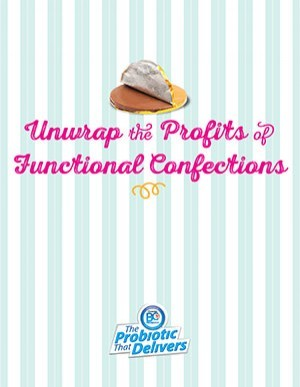Unwrap the profits of functional confections